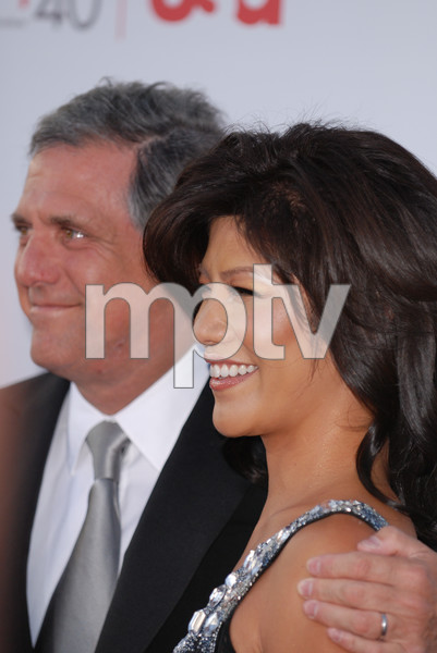 """35th Annual AFI Life Achievement Award Honoring Al Pacino""Julie Chen, Leslie Moonves06-07-2007 / Kodak Theatre / Hollywood, CA / Photo by Andrew Howick - Image 23094_0067"