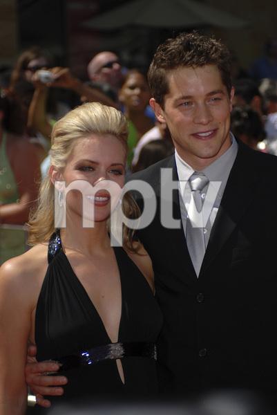 """The 34th Annual Daytime Emmy Awards""Chalae Gerhardt, Jason Gerhardt06-15-2007 / Kodak Theatre / Hollywood, CA / Photo by Andrew Howick - Image 23100_0034"