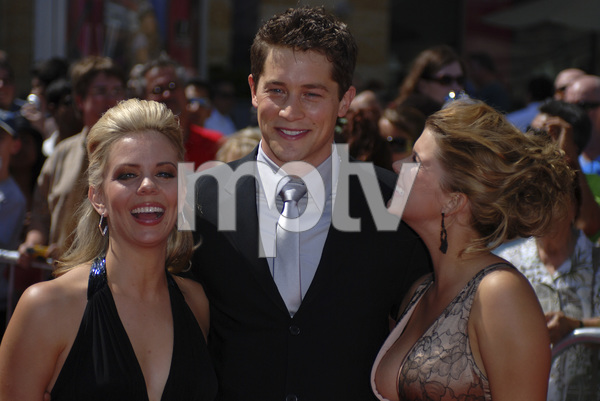 """The 34th Annual Daytime Emmy Awards""Chalae Gerhardt, Jason Gerhardt, Lindze Letherman 06-15-2007 / Kodak Theatre / Hollywood, CA / Photo by Andrew Howick - Image 23100_0035"