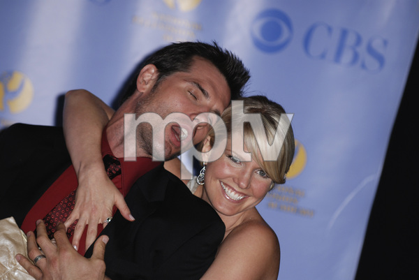 """""""The 34th Annual Daytime Emmy Awards""""Austin Peck, Terri Colombino06-15-2007 / Kodak Theatre / Hollywood, CA / Photo by Andrew Howick - Image 23100_0083"""