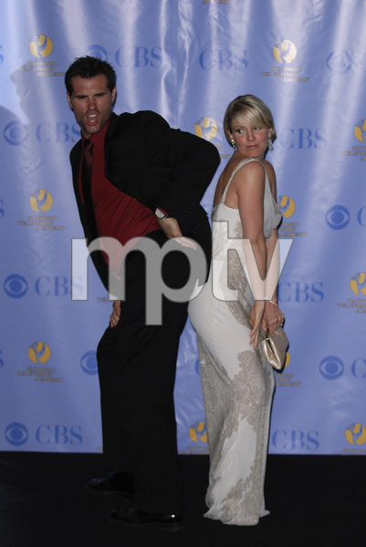 """""""The 34th Annual Daytime Emmy Awards""""Austin Peck, Terri Colombino06-15-2007 / Kodak Theatre / Hollywood, CA / Photo by Andrew Howick - Image 23100_0085"""