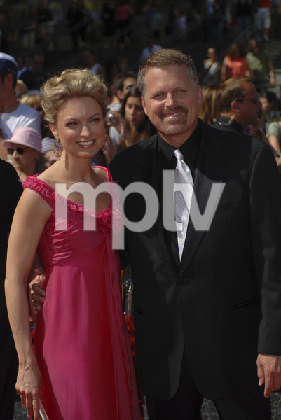 """""""The 34th Annual Daytime Emmy Awards""""Nicole Forester, Robert Newman 06-15-2007 / Kodak Theatre / Hollywood, CA / Photo by Andrew Howick - Image 23100_0088"""