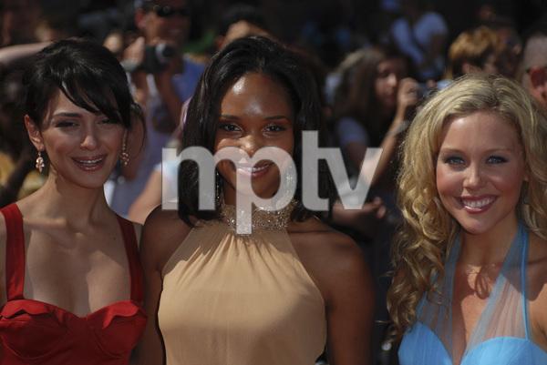 """The 34th Annual Daytime Emmy Awards""Nazanin Boniadi, Angel M. Wainwright, Amanda Baker06-15-2007 / Kodak Theatre / Hollywood, CA / Photo by Andrew Howick - Image 23100_0096"