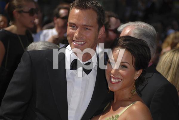 """The 34th Annual Daytime Emmy Awards""Eric Martsolf, Lisa Kouchak06-15-2007 / Kodak Theatre / Hollywood, CA / Photo by Andrew Howick - Image 23100_0124"
