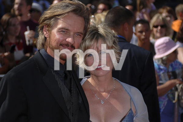 """""""The 34th Annual Daytime Emmy Awards""""Stephen Nichols, Mary Beth Evans06-15-2007 / Kodak Theatre / Hollywood, CA / Photo by Andrew Howick - Image 23100_0146"""