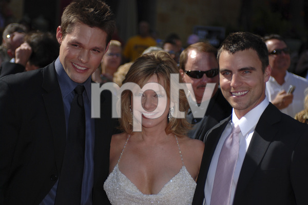 """""""The 34th Annual Daytime Emmy Awards""""Justin Bruening, Bobbie Eakes06-15-2007 / Kodak Theatre / Hollywood, CA / Photo by Andrew Howick - Image 23100_0164"""