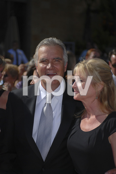 """""""The 34th Annual Daytime Emmy Awards""""John McCook, Laurette Spang06-15-2007 / Kodak Theatre / Hollywood, CA / Photo by Andrew Howick - Image 23100_0175"""