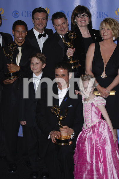"""The 34th Annual Daytime Emmy Awards""Bryton McClure, Hunter Allan, Christian LeBlanc, Darcy Rose Byrnes, Melody Thomas Scott 06-15-2007 / Kodak Theatre / Hollywood, CA / Photo by Andrew Howick - Image 23100_0190"