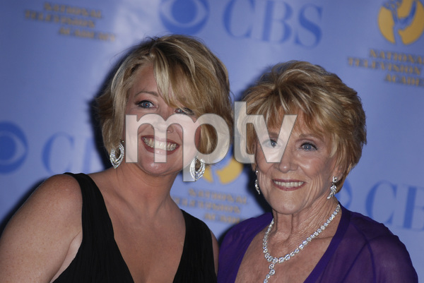 """The 34th Annual Daytime Emmy Awards""Melody Thomas Scott, Jeanne Cooper 06-15-2007 / Kodak Theatre / Hollywood, CA / Photo by Andrew Howick - Image 23100_0208"