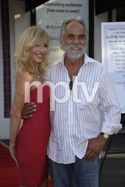 """80th Birthday Salute to Mort Sahl""Shelby Chong, Tommy Chong06-28-2007 / Wadsworth Theater / Brentwood, CA / Photo by Andrew Howick - Image 23107_0004"