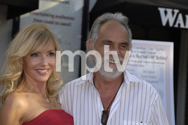 """80th Birthday Salute to Mort Sahl""Shelby Chong, Tommy Chong06-28-2007 / Wadsworth Theater / Brentwood, CA / Photo by Andrew Howick - Image 23107_0005"