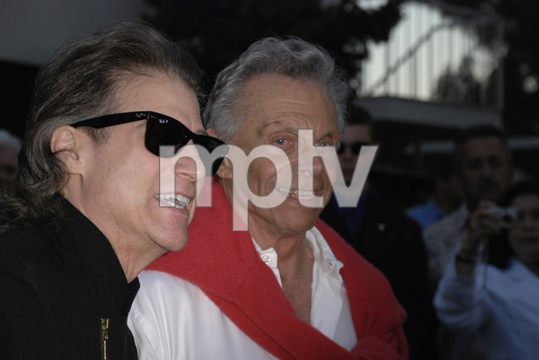 """""""80th Birthday Salute to Mort Sahl""""Richard Lewis, Mort Sahl06-28-2007 / Wadsworth Theater / Brentwood, CA / Photo by Andrew Howick - Image 23107_0026"""