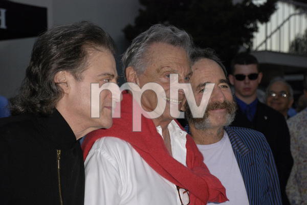 """""""80th Birthday Salute to Mort Sahl""""Richard Lewis, Mort Sahl, Harry Shearer06-28-2007 / Wadsworth Theater / Brentwood, CA / Photo by Andrew Howick - Image 23107_0028"""