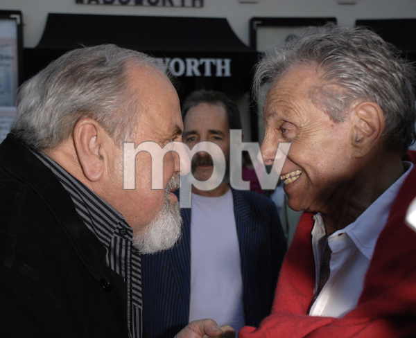"""""""80th Birthday Salute to Mort Sahl""""George Schlatter, Harry Shearer, Mort Sahl06-28-2007 / Wadsworth Theater / Brentwood, CA / Photo by Andrew Howick - Image 23107_0029"""