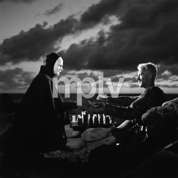 """""""The Seventh Seal""""Bengt Ekerot, Max von Sydow1957** I.V. - Image 23137_0011"""