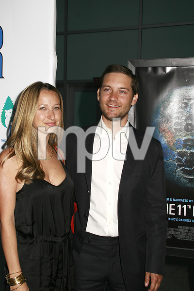 """""""The 11th Hour"""" (Premiere) Jennifer Meyer, Tobey Maguire 8-8-2007 / Arclight Theaters / Los Angeles, CA / Warner Independent Pictures / Photo by Max Rodeo - Image 23163_0015"""