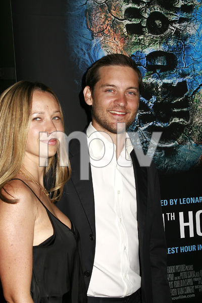 """""""The 11th Hour"""" (Premiere) Jennifer Meyer, Tobey Maguire 8-8-2007 / Arclight Theaters / Los Angeles, CA / Warner Independent Pictures / Photo by Max Rodeo - Image 23163_0016"""