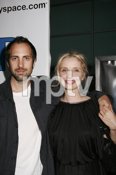 """""""The 11th Hour"""" (Premiere) Marc Streitenfeld, Julie Delpy 8-8-2007 / Arclight Theaters / Los Angeles, CA / Warner Independent Pictures / Photo by Max Rodeo - Image 23163_0018"""