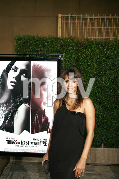 """""""Things We Lost in the Fire"""" (Premiere) Halle Berry10-15-2007 / Mann"""