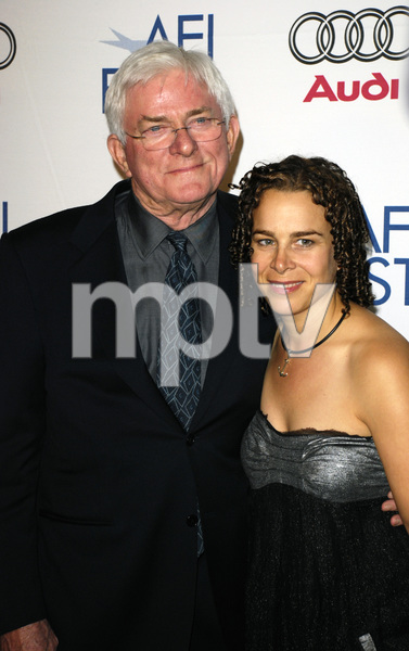 """Noise"" (Premiere)Phil Donahue, Ellen Spiro11-6-2007 / ArcLight Cinemas / Hollywood, CA / Seven Arts Pictures / Photo by Andrew Howick - Image 23233_0027"