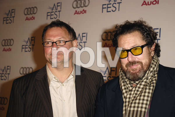 """""""The Diving Bell and the Butterfly"""" aka """"Scaphandre et le papillon, Le"""" (Premiere)Janusz Kaminski, Julian Schnabel 11-8-2007 / ArcLight Cinemas / Hollywood, CA / Miramax Films / Photo by Andrew Howick - Image 23235_0004"""