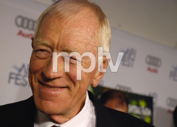 """The Diving Bell and the Butterfly"" aka ""Scaphandre et le papillon, Le"" (Premiere)Max von Sydow11-8-2007 / ArcLight Cinemas / Hollywood, CA / Miramax Films / Photo by Andrew Howick - Image 23235_0008"