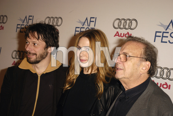 """""""The Diving Bell and the Butterfly"""" aka """"Scaphandre et le papillon, Le"""" (Premiere)Mathieu Amalric, Marie-Josee Croze, Ronald Harwood11-8-2007 / ArcLight Cinemas / Hollywood, CA / Miramax Films / Photo by Andrew Howick - Image 23235_0015"""