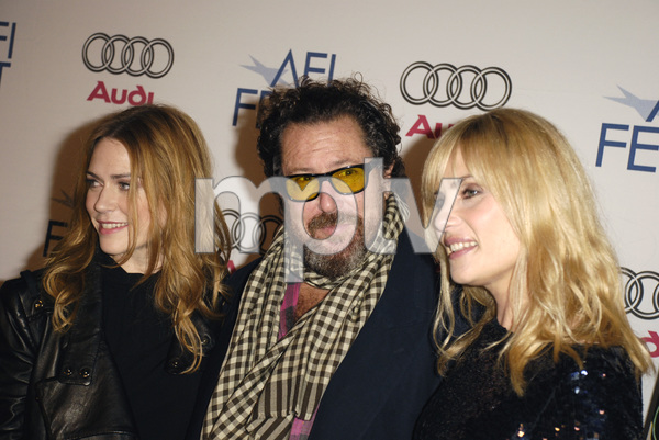 """""""The Diving Bell and the Butterfly"""" aka """"Scaphandre et le papillon, Le"""" (Premiere)Marie-Josee Croze, Julian Schnabel, Emmanuelle Seigner 11-8-2007 / ArcLight Cinemas / Hollywood, CA / Miramax Films / Photo by Andrew Howick - Image 23235_0022"""