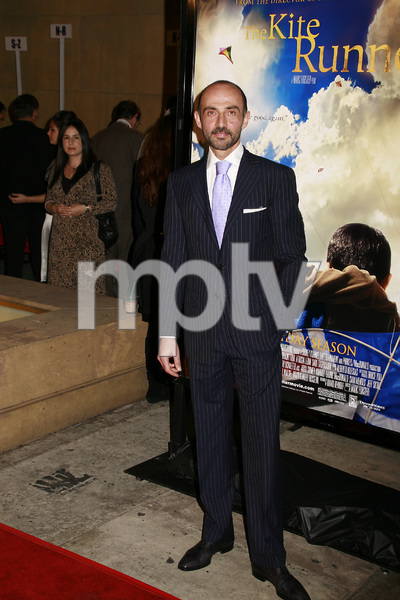 """""""The Kite Runner"""" (Premiere) Shaun Toub 12-4-2007 / Egyptian Theater / Hollywood, CA / Paramount Vantage / Photo by Max Rodeo - Image 23258_0011"""