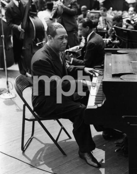 "Edward Kennedy ""Duke"" Ellington at Randall"