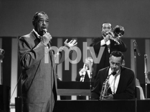 "Edward Kennedy ""Duke"" Ellington and Paul Gonsalves performing in London1969** I.V.M. - Image 2326_0128"