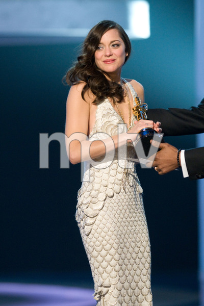 """""""Academy Awards - 80th Annual"""" (Telecast)Marion Cotillard2-24-08Photo by Michael Yada © 2008 A.M.P.A.S. - Image 23359_0161"""