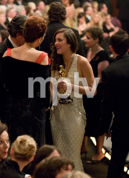 """Academy Awards - 80th Annual"" (Telecast)Marion Cotillard2-24-08Photo by Greg Harbaugh © 2008 A.M.P.A.S. - Image 23359_0170"