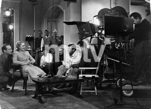 """""""TOO MANY HUSBANDS"""" Jean Arthur, Melvyn Douglas, Weslet Ruggles, Columbia, 1940, I.V. - Image 23373_0001"""