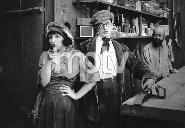"""BACK TO THE WOODS""  Harold Lloyd, Bebe Daniels, Pathe-Rolin, 1919, I.V. - Image 23424_0001"