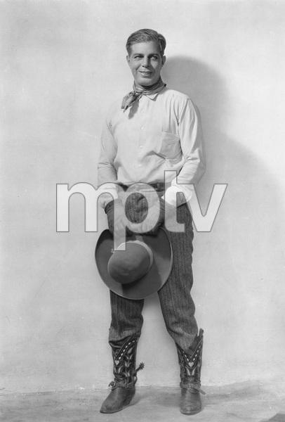 """THE BUCKAROO KID""  Hoot Gibson, (photo by Freulich) Universal, 1926, I.V. - Image 23472_0001"