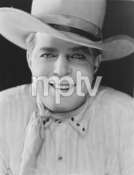 """""""THE DENVER DUDE""""  Hoot Gibson, (photo by Freulich) Universal, 1927, I.V.  - Image 23494_0001"""