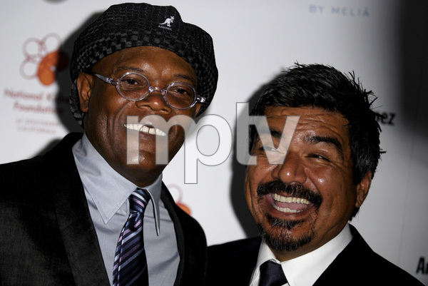The 29th Annual Gift of Life GalaSamuel L. Jackson, George Lopez5-18-2008 / Century Plaza Hotel / Los Angeles, CA / Photo by Andrew Howick - Image 23518_0020
