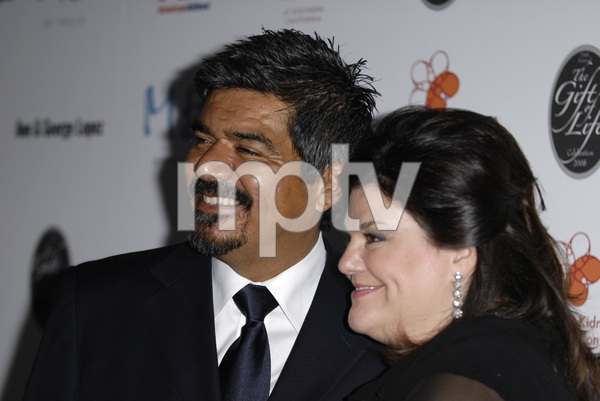 The 29th Annual Gift of Life Gala George Lopez, Ann Serrano 5-18-2008 / Century Plaza Hotel / Los Angeles, CA / Photo by Andrew Howick - Image 23518_0024