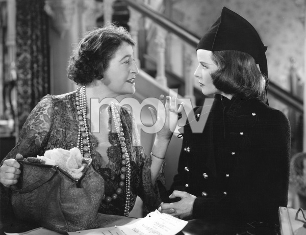 Katharine Hepburn, Constance Collier, STAGE DOOR, RKO, 1937, I.V. - Image 23520_0001