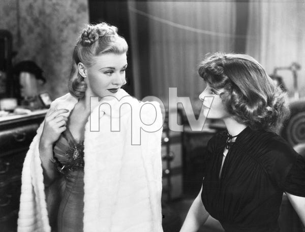 Katharine Hepburn, GInger Rogers,  STAGE DOOR, RKO, 1937, I.V. - Image 23520_0003