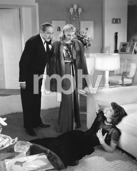 Katharine Hepburn, Adolphe Menjou, Ginger Rogers, STAGE DOOR, RKO, 1937, I.V. - Image 23520_0004