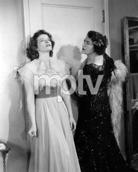 Katharine Hepburn, Constance Collier, STAGE DOOR, RKO, 1937, I.V. - Image 23520_0005