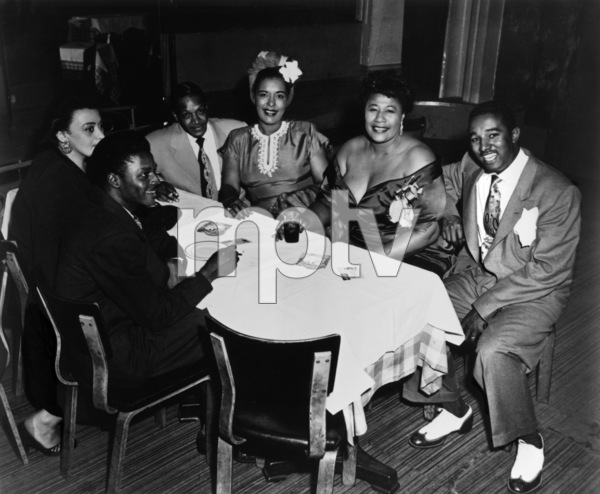 Ella Fitzgerald with Billie Holiday and Ray Browncirca 1950s** I.V.M. - Image 2353_0128
