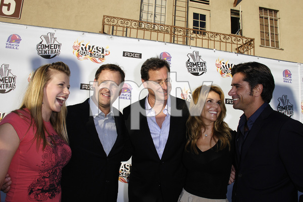 """Comedy Central Roast of Bob Saget""Jodie Sweetin, Dave Coulier, Bob Saget, Lori Loughlin, John Stamos08-03-2008 / Warner Brothers Studio Lot / Photo by Andrew Howick - Image 23585_0032"