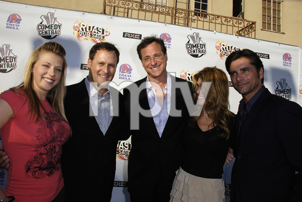"""""""Comedy Central Roast of Bob Saget""""Jodie Sweetin, Dave Coulier, Bob Saget, Lori Loughlin, John Stamos08-03-2008 / Warner Brothers Studio Lot / Photo by Andrew Howick - Image 23585_0034"""