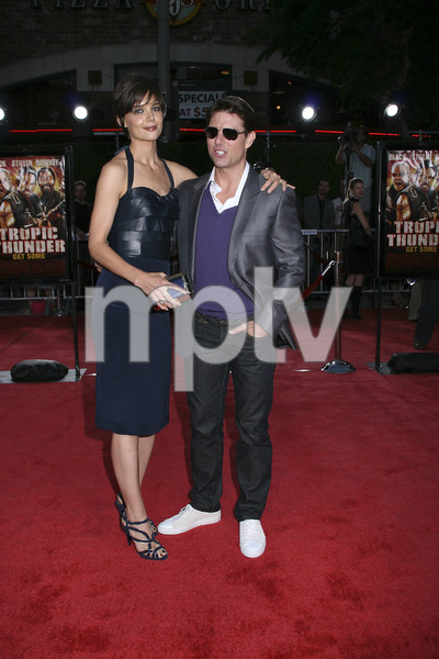 """""""Tropic Thunder"""" PremiereKatie Holmes, Tom Cruise 8-11-2008 / Mann Village Theater / Los Angeles, CA / Dreamworks / Photo by Max Rodeo - Image 23587_0002"""