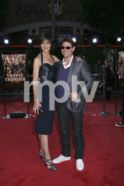 """""""Tropic Thunder"""" PremiereKatie Holmes, Tom Cruise 8-11-2008 / Mann Village Theater / Los Angeles, CA / Dreamworks / Photo by Max Rodeo - Image 23587_0003"""