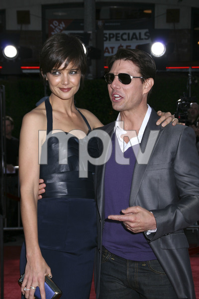 """""""Tropic Thunder"""" PremiereKatie Holmes, Tom Cruise 8-11-2008 / Mann Village Theater / Los Angeles, CA / Dreamworks / Photo by Max Rodeo - Image 23587_0005"""