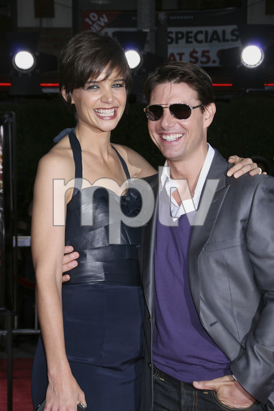 """Tropic Thunder"" PremiereKatie Holmes, Tom Cruise 8-11-2008 / Mann Village Theater / Los Angeles, CA / Dreamworks / Photo by Max Rodeo - Image 23587_0010"